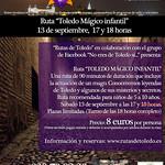 "Ruta ""Toledo Mágico Infantil"" 13/9/14"