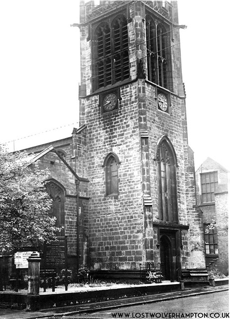 St James Church as I recall it on the east side of St James's Street 1950.