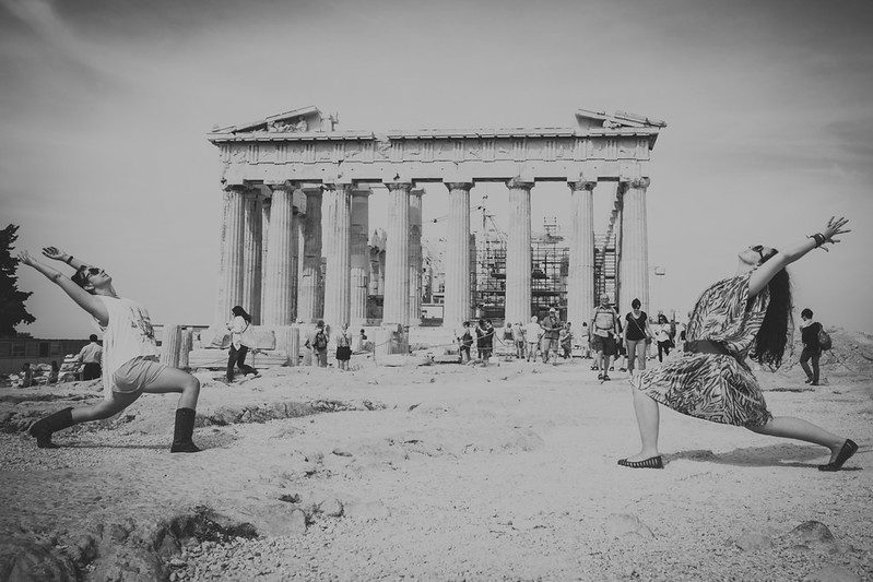 yinjoy photography travel athens black and white