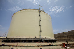 storage tank, silo, nuclear power plant,