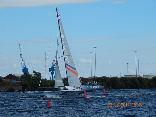 Cardiff Bay Festival Extreme Sailing 2014