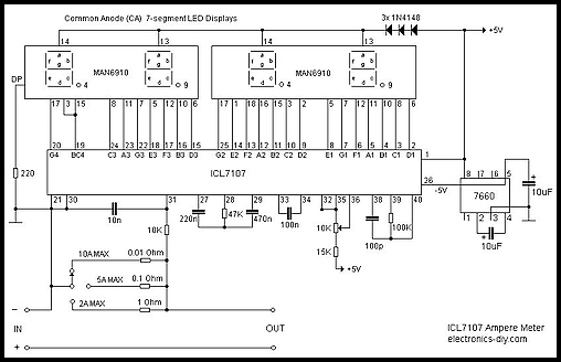 ICL7107_ampere_meter