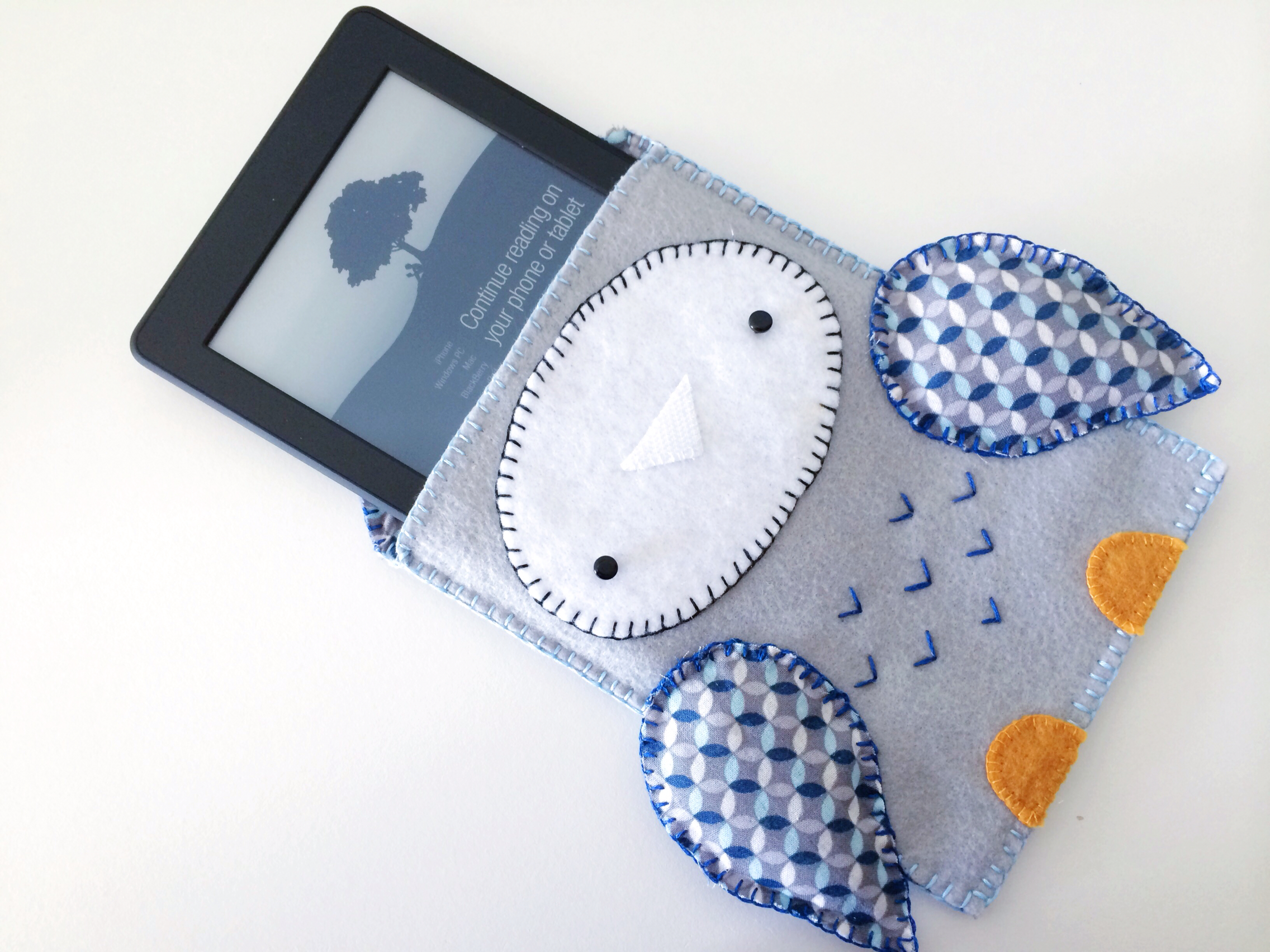 Owl Kindle Cozy