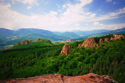 nature beautiful rocks day cloudy hiking bulgaria fortress belogradchik bulgariancountryside
