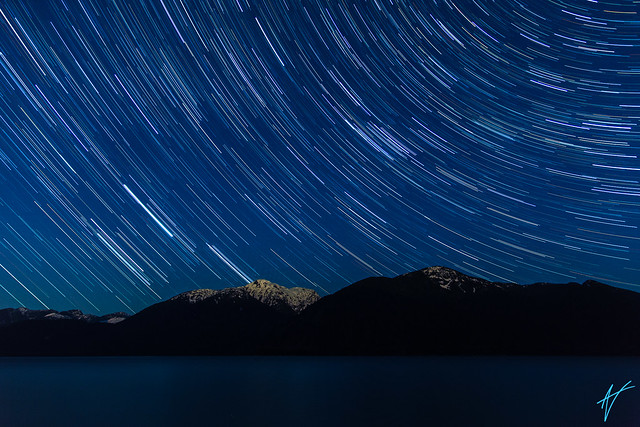 Porteau Cove Star Trails