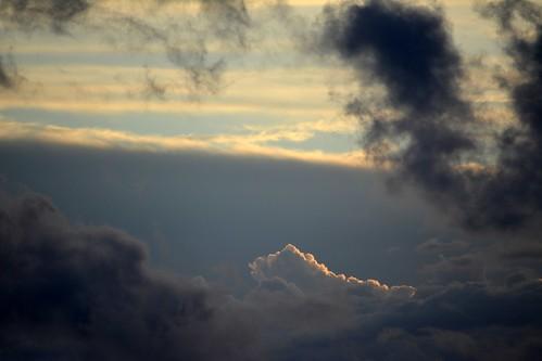 sunset sunsetclouds sunsetcloudscape storm storminflow illumination illuminatedcloud sequeensland tamborinemountain australia australianweather 130914 mounttamborine