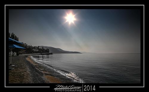 sea mer beach sunrise greece grèce corynthe