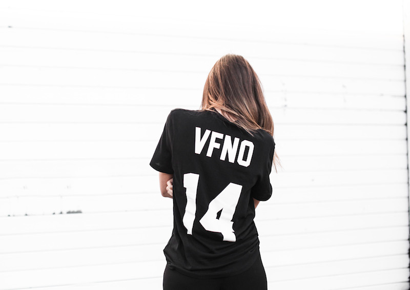 modern legacy fashion blog Vogue Fashion Night Out 2014 Sydney Bassike t shirt black (3 of 3)