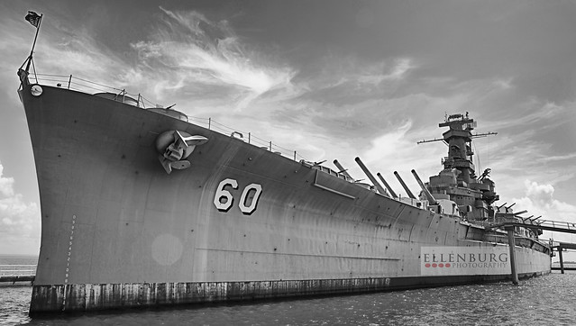 36/52 USS Alabama is BIG {and Hot}