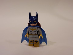DC Batgirl Grey (Machine Printed)