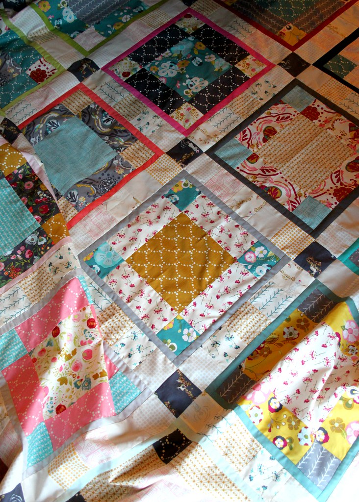 An Emmy Grace quilt top
