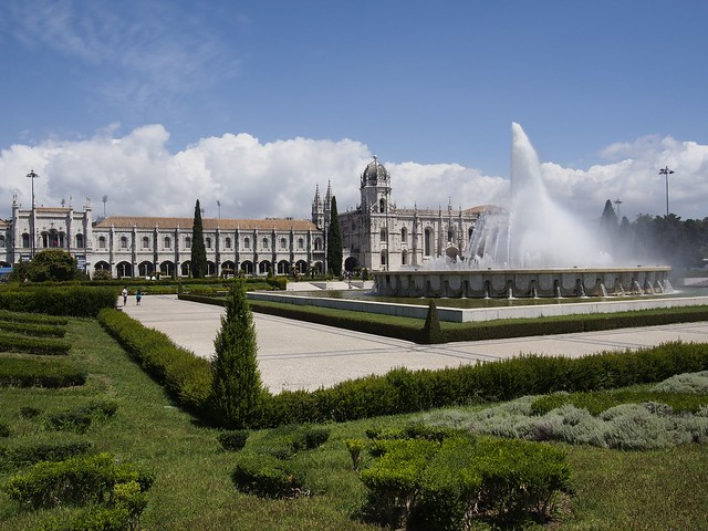 Jeronimos, Monastery, Lisbon, Portugal, travel