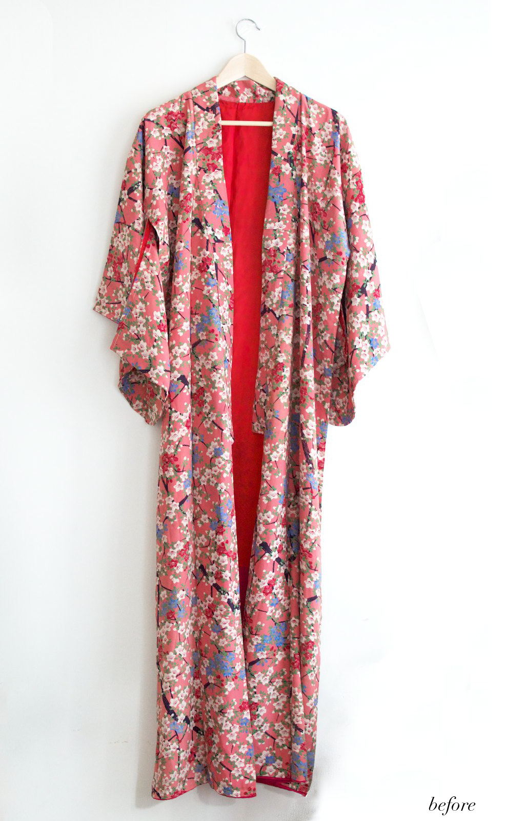 Altered kimono www.apairandasparediy.com