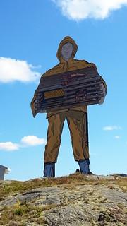 Lobsterman in Prospect Harbor, Maine