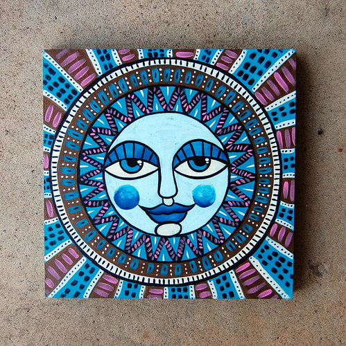 Folk Art Moon