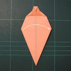 วิธีพับกระดาษเป็นรูปปลาโลมาแบบง่าย (Easy Origami Dolphin) 009
