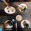 Beautiful spread! Breakfast @pleinaircafe #repost from @johnstoffer  ---  This spread.