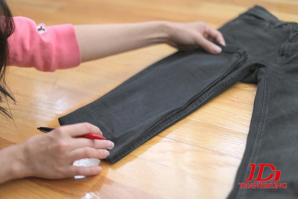 Cách làm quần Jean/Bò rách CỰC ngầu đơn giản