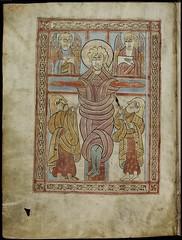 Evangelario irlandés de Saint Gall, c. 750