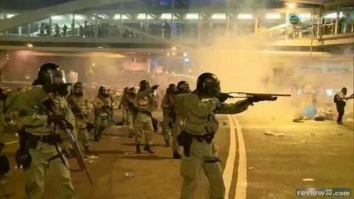 17これは香港警察の本性