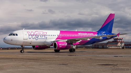 WizzAir Airbus A320 HA-LPW