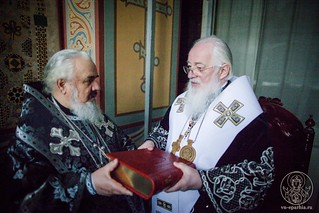 Литургия в Софийском соборе 390