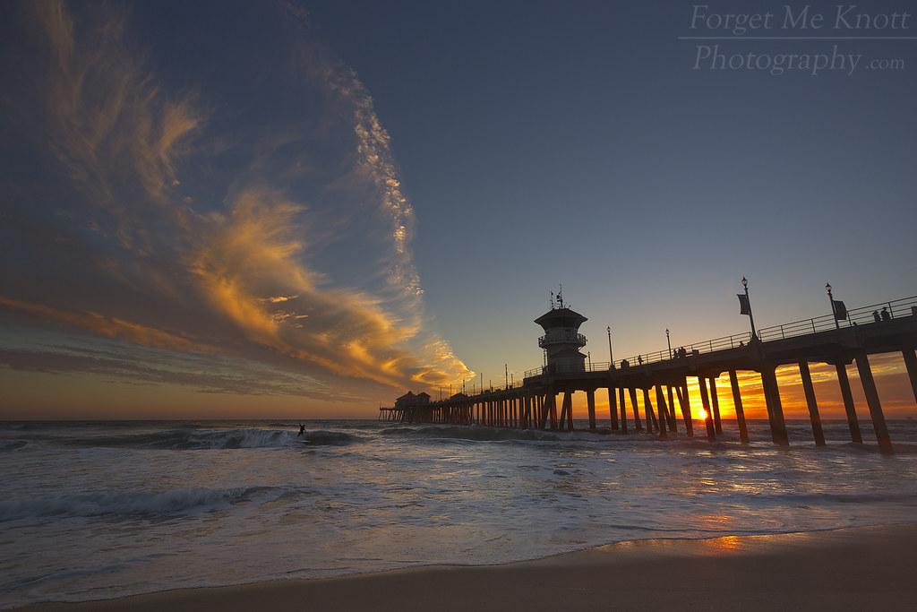 Huntington Beach Beach Cities California Around