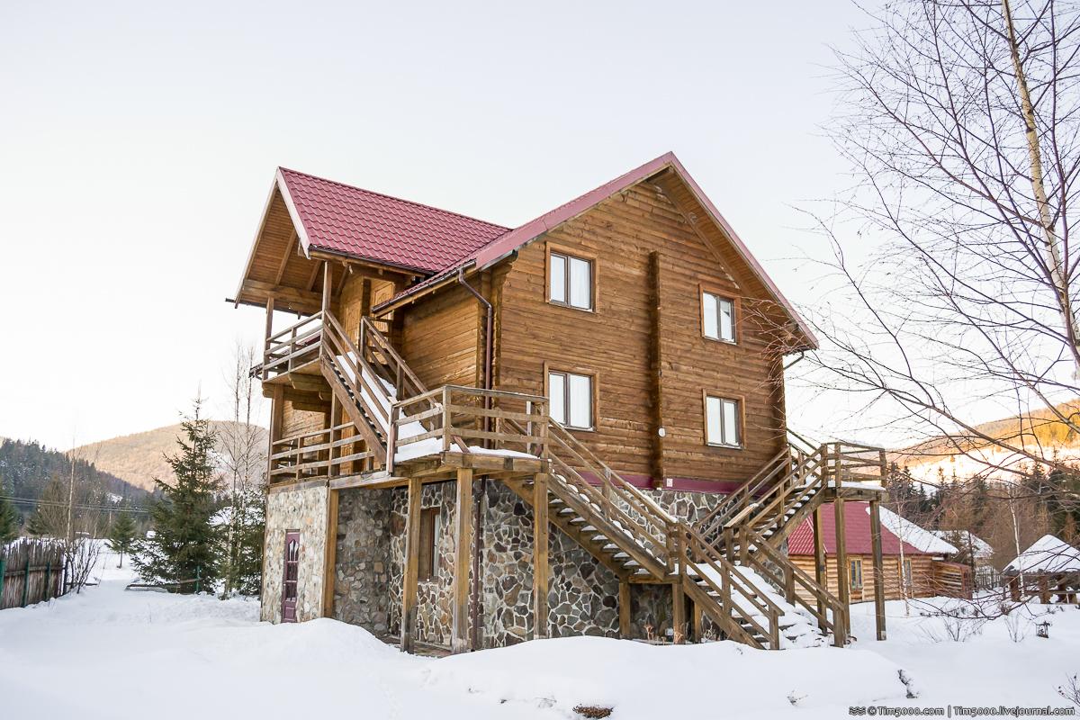 Удивительное место и тихий отель в Карпатах!