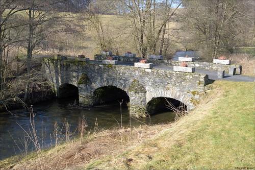 Roman Bridge - Pont Romain, Fosset (B)