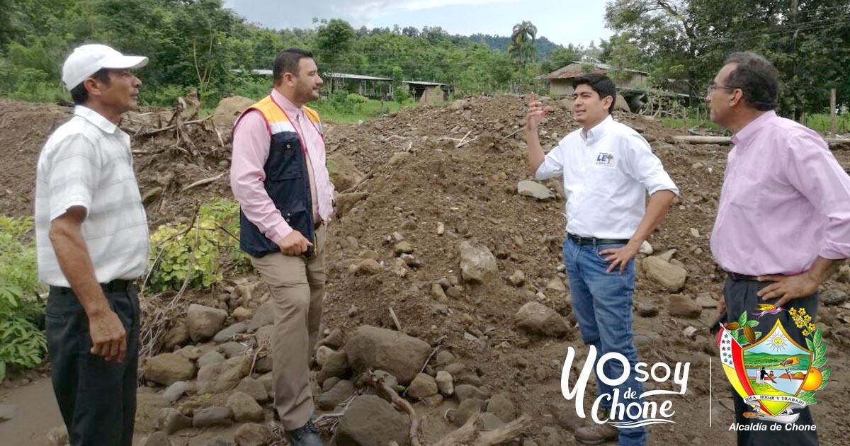 Alcaldía de Chone y la Dirección Nacional de Reactivación de Cacao y Café realizaron recorridos técnicos