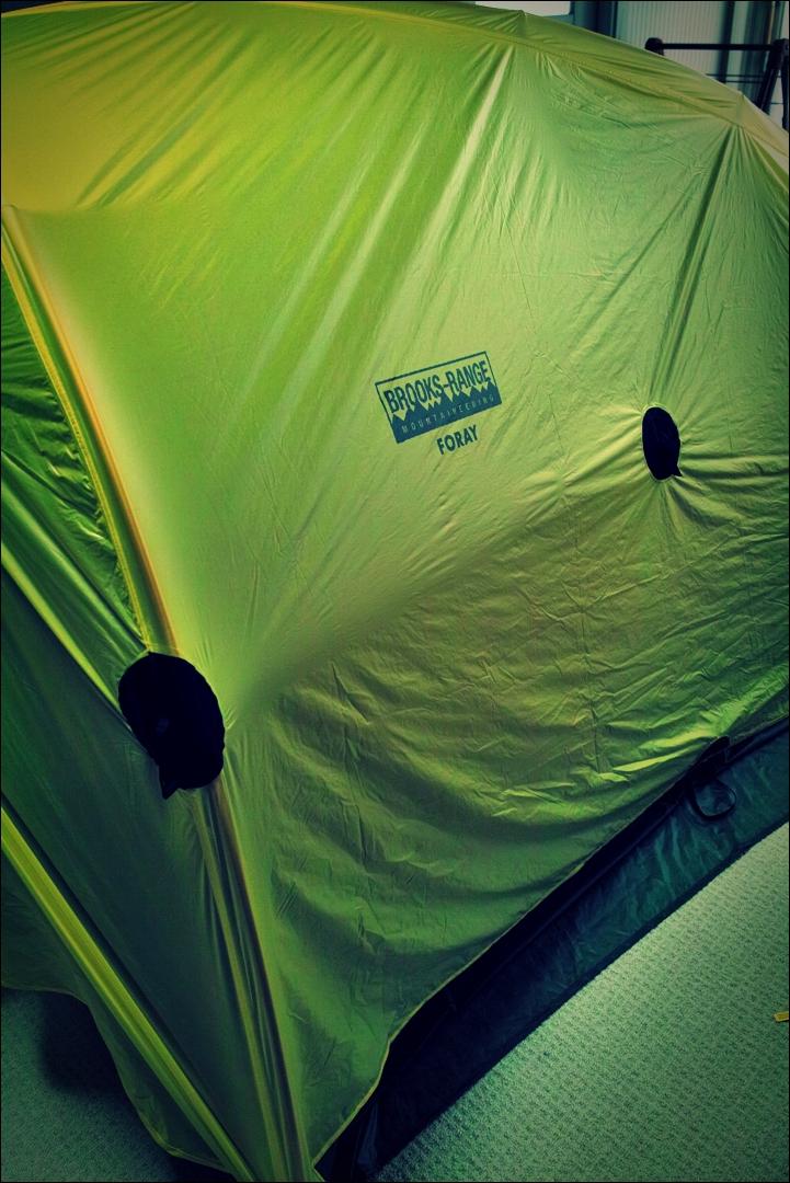 텐트 외부-'자전거 야영 준비 ready to bike camping'