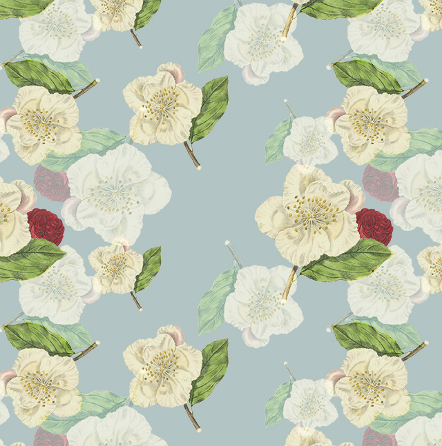 where there are flowers pattern