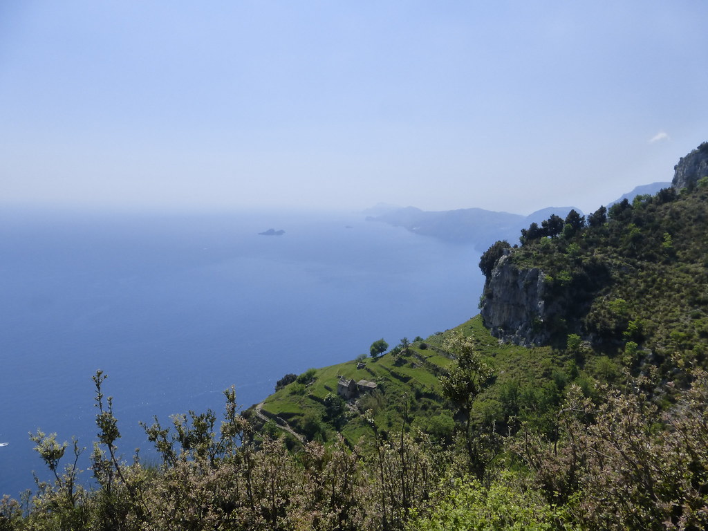 Capri in the far distance