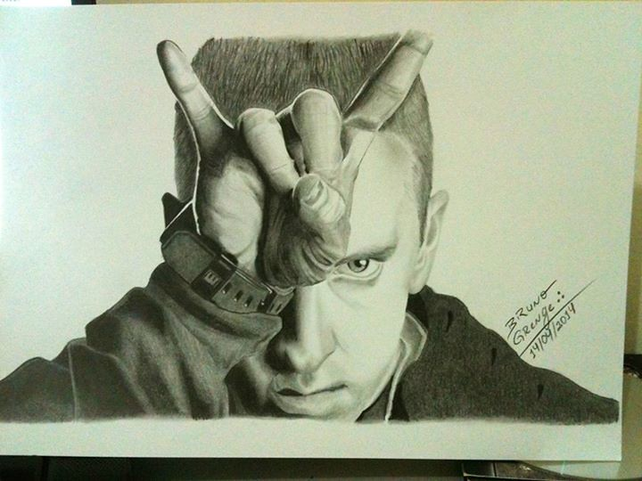 Eminem by Bruno Grenge