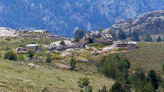 En vue des bergeries de Teghja