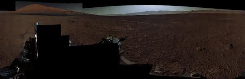 Curiosity sol 647 MastCam left