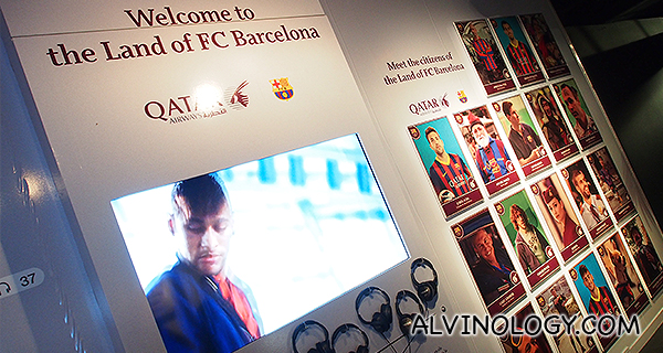 The making of the Land of FC Barcelona video commercial for Qatar Airways