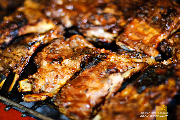 Baby Back Ribs at Santino's Grill in Coron