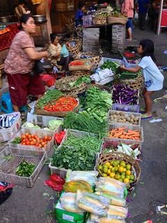 Fresh produce for sale