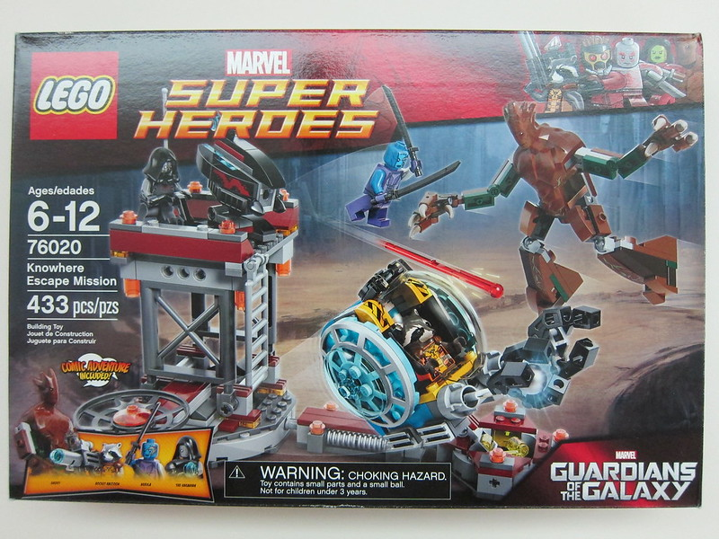 Lego - 76020 - Super Heroes - Knowhere Escape Mission Building Set