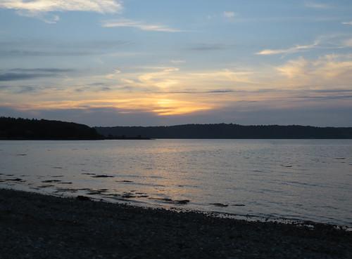 49 sunset reflection