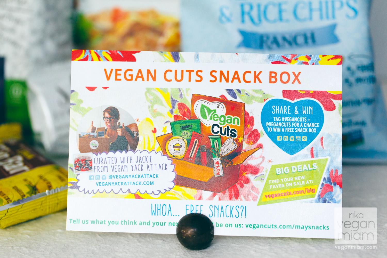 Vegan Cuts Snack Box May 2014 Review