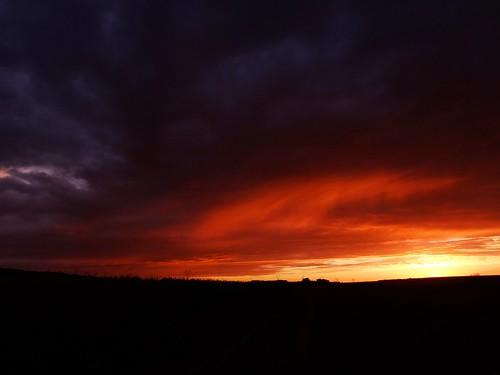sunset sky nature clouds landscape colours midsummer poland polska lodzkie łódzkie