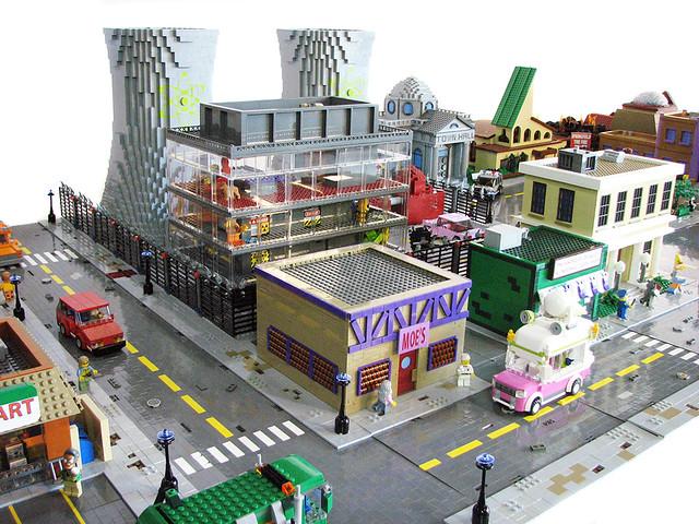 LEGO Springfield, USA