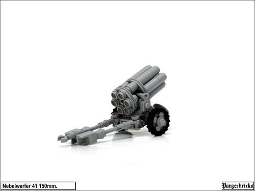 Nebelwerfer 41 de 150mm. de Panzerbricks