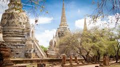 2014-06-05 Thailand Day 14, Wat Phrasisanpeth, Ayutthaya
