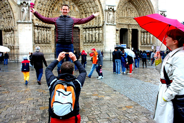Fyrir framan Notre Dame