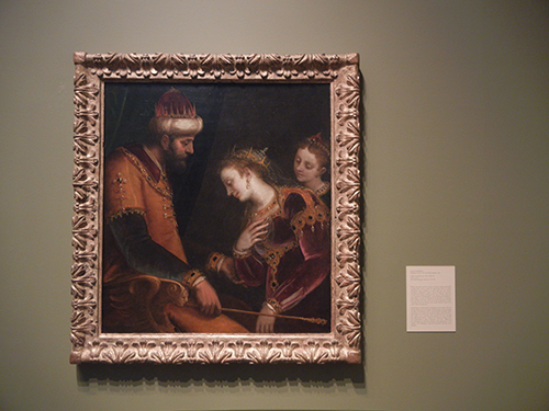 DSCN1154 _ Esther and Ahasuerus, c 1565-70, Luca Cambiaso, Blandon Museum, Austin