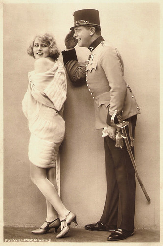 Xenia Desni and Willy Fritsch in Ein Walzertraum