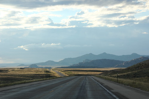 US 287 via Wyoming